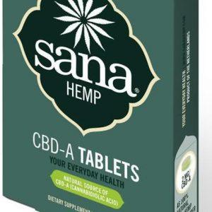 Sana Hemp Juice CBD-A tabletten