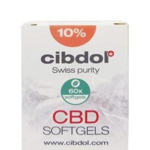Cibdol CBD softgels capsules 10%