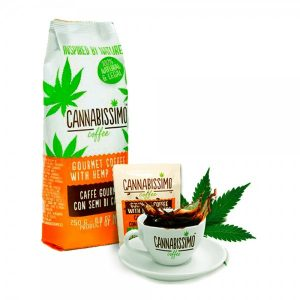 Cannabissimo hennep koffie