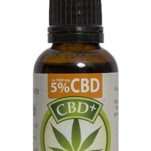 Jacob Hooy CBD Olie 5% 30ml