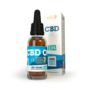 Royal Queen Seeds CBD oil 2,5% 30ml