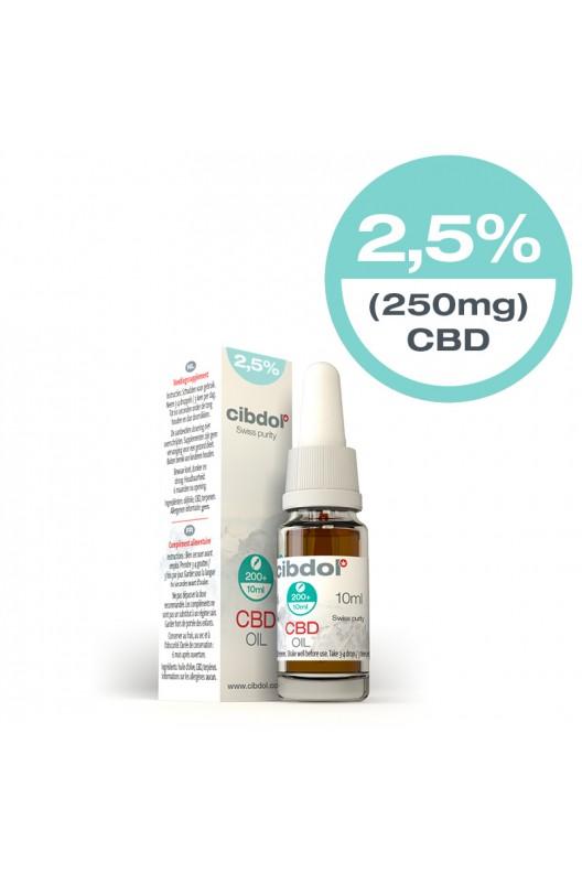 Cibdol CBD olie 2,5% 10ml