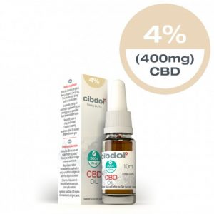 Cibdol CBD oil 10ml 4%